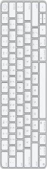 Apple keyboard image.